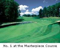 No. 1 at the Masterpiece Course