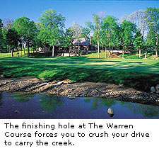 No. 18 at Warren Golf Course