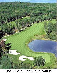 The UAW's Black Lake course