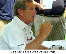 Zoeller talks about his win